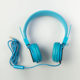 earphones-blue